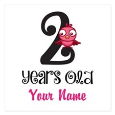 2 Years Old Baby Bird - Personalized Flat Cards