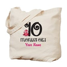 10 Months Old Baby Bird - Personalized Tote Bag