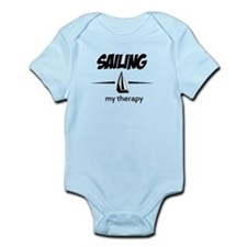 Sailing my therapy Infant Bodysuit