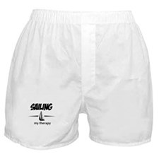 Sailing my therapy Boxer Shorts