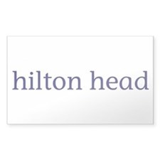Hilton Head Rectangle Decal
