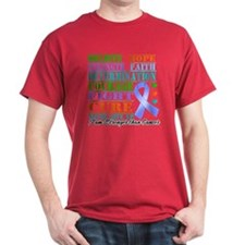 Esophageal Cancer Believe T-Shirt