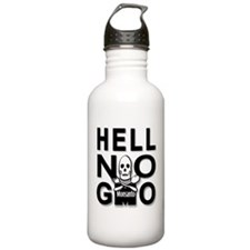 HELL NO GMO Water Bottle