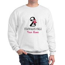 2 Months Old Baby Bird - Personalized Sweatshirt