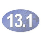 Super Unique 13.1 Fancy BLUE Decal