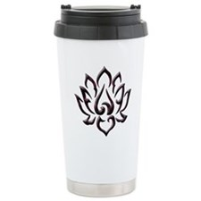 Lotus Flower Ceramic Travel Mug