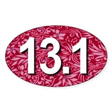 Super Unique 13.1 Floral RED Decal