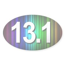 Super Unique 13.1 Rainbow Decal