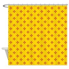Zia Sun Symbol Shower Curtain