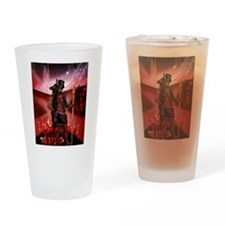 Esu-Anubis Drinking Glass