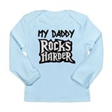 Daddy_Rockers_harder_text_only Long Sleeve T-Shirt