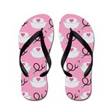 Cute Nurse Occupation Flip Flops