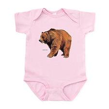 Kodiak Bear Animal Infant Bodysuit