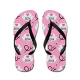 Nursing School Class Of 2014 Flip Flops