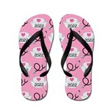 Nursing School Class Of 2022 Flip Flops