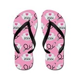 Nursing School Class Of 2024 Flip Flops