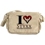 I Heart Styxx Messenger Bag