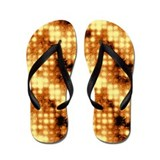 Liquid Copper Flip Flops