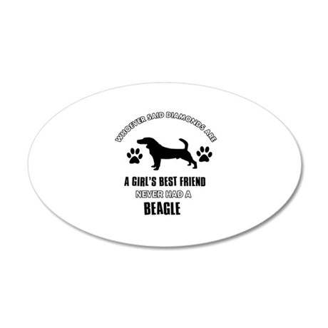 Beagle Mommy designs Wall Decal