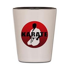 karate1 Shot Glass
