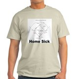 Home Sick Ash Grey T-Shirt