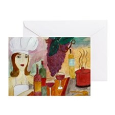 Pretty Chef Greeting Cards (Pk of 10)
