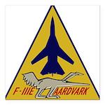 F-111E Aardvark Square Car Magnet 3