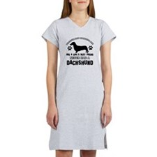 Daschund Mommy designs Women's Nightshirt