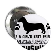 "Daschund Mommy designs 2.25"" Button (100 pack)"