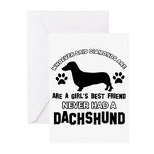 Daschund Mommy designs Greeting Cards (Pk of 10)
