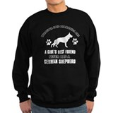 German Shepherd Mommy designs Sweatshirt