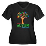 Support Autism Plus Size T-Shirt