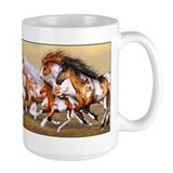Wild Horses Herd Coffee Mug