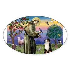 St Francis & Aussie #2 Decal