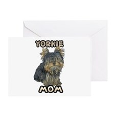 Yorkshire Terrier Mom Greeting Card