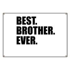 Best Brother Ever Banner
