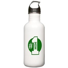 Number 1 Mom (Green) Water Bottle