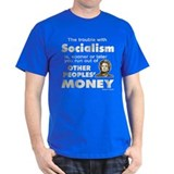 Thatcher Socialism Quote T-Shirt