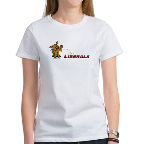 Pee on Liberals Women's T-Shirt