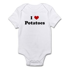 I Love Potatoes Infant Bodysuit
