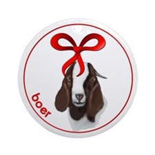 Goat Christmas Boer Doe Ornament
