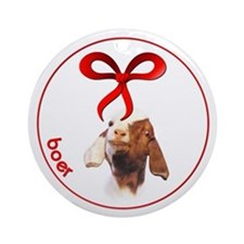 Goat Christmas Boer Ornament