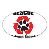 Rescue Recycle Decal