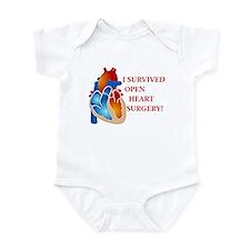 I Survived Open Heart Surgery Infant Bodysuit