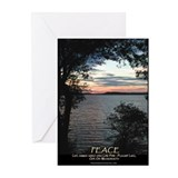 Long Pond Sunset - Peace - Cards