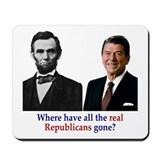 Real Republicans Mousepad