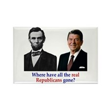 Real Republicans Rectangle Magnet (10 pack)