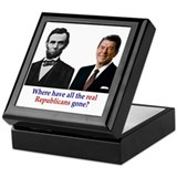 Real Republicans Keepsake Box