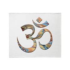 Om Symbol Throw Blanket