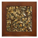 Honey Bees Framed Tile